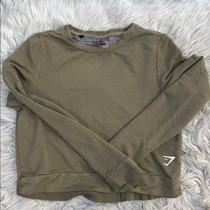 Gym Shark Cropped Sweatshirt